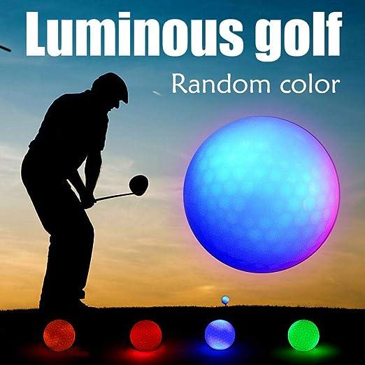 Pelota De Golf Con Iluminación Brillante, Bola Luminosa Bola De ...