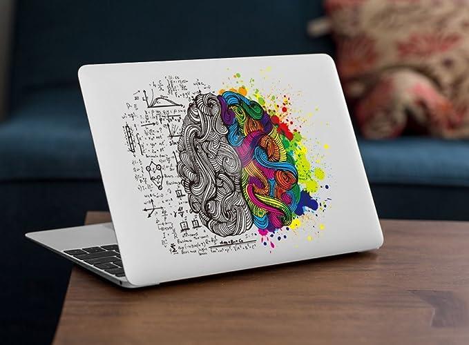 Sticker Adhesivos Macbook, Caroki Nuevo Arte Extraíbles Vinilo Adhesivo Desprendibles Creativo Colorido Art Calcomanía Pegatina para Apple MacBook Air/Pro ...