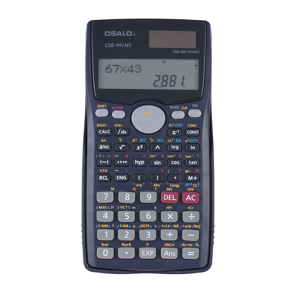 Amazon Kkmoon Scientific Calculator Counter 401 Functions