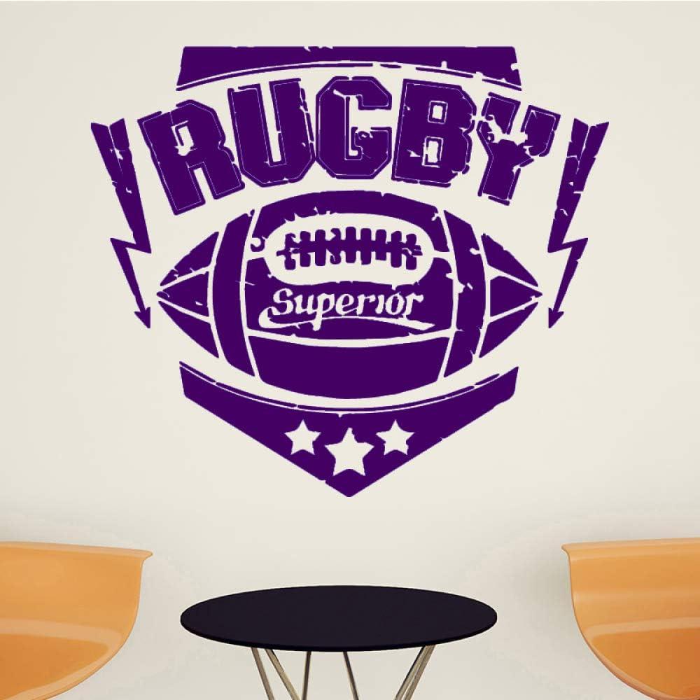 xingbuxin Rugby Sport Adhesivos de Pared para niños Sala de Estar ...