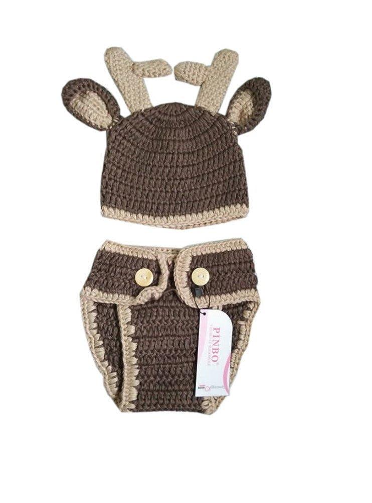 Amazon.com: pinbo Baby Boys fotografía prop Cute Animal ...