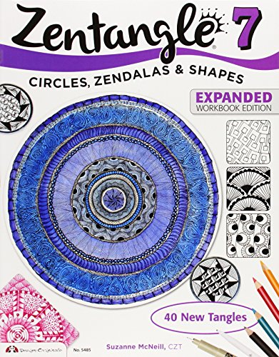 Zentangle 7, Expanded Workbook Edition: Circles, Zendalas & Shapes