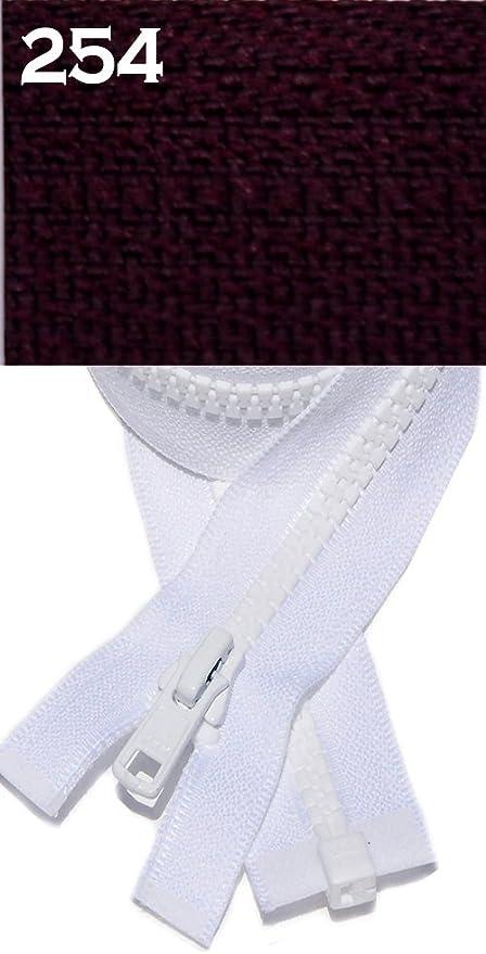 "3 Pcs~22/"" Purple Separating Jacket Zippers ~Nelon"