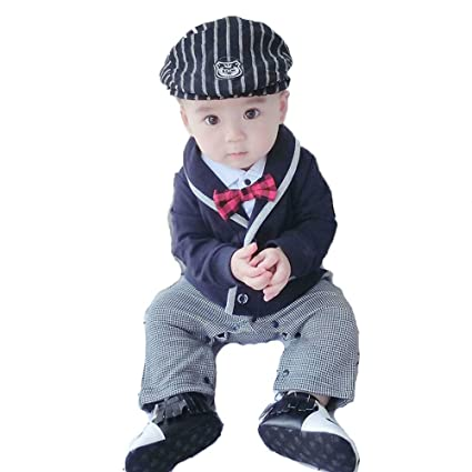 8d8323c5dcd87 子供服 男の子 ベビー フォーマル スーツ ベビー服 ロンパース カバーオール 蝶ネクタイ 赤ちゃん 子供 男の子 キッズ おしゃれ