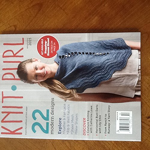Knit Purl Spring/Summer 2015 by Interweave Press