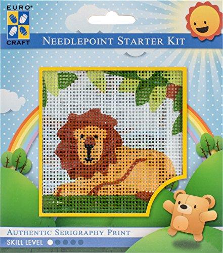 Needleart World Lazy Lion Needlepoint Kit ()