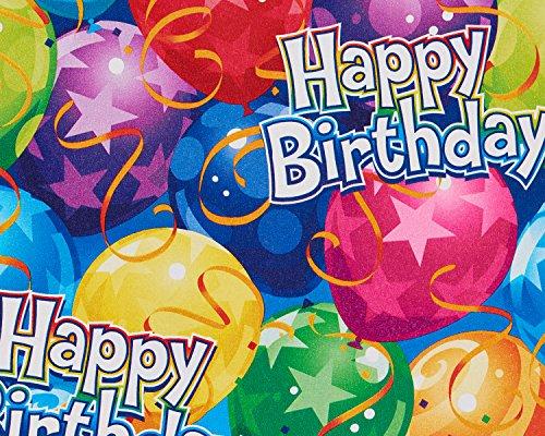 American Greetings 5501086 Happy Birthday Celebration Wrappi