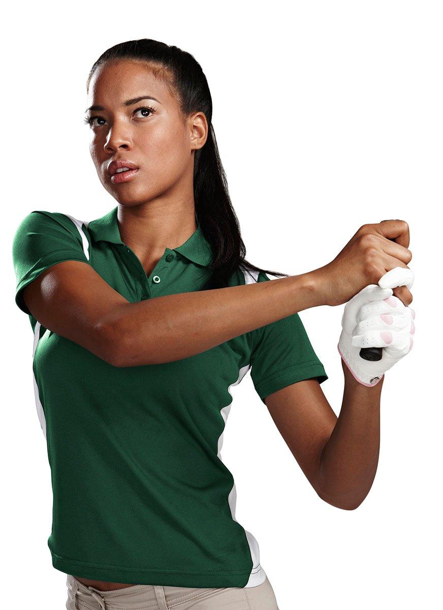 Tri-Mountain 143 Lady Blitz Moisture Wicking Antimicrobial Golf Shirt