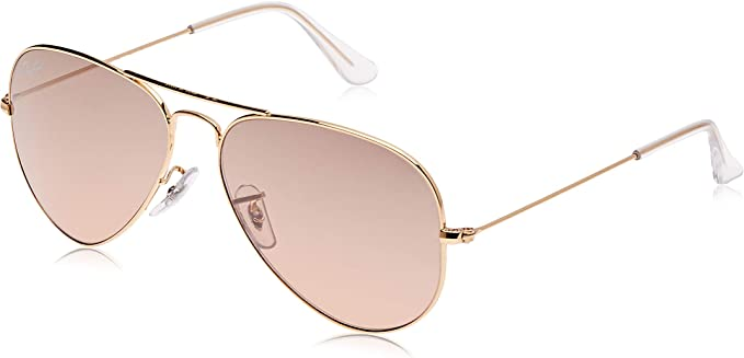 Ray-Ban 0RB3025 Rb3025 Aviator Classic - Gafas de sol con espejo