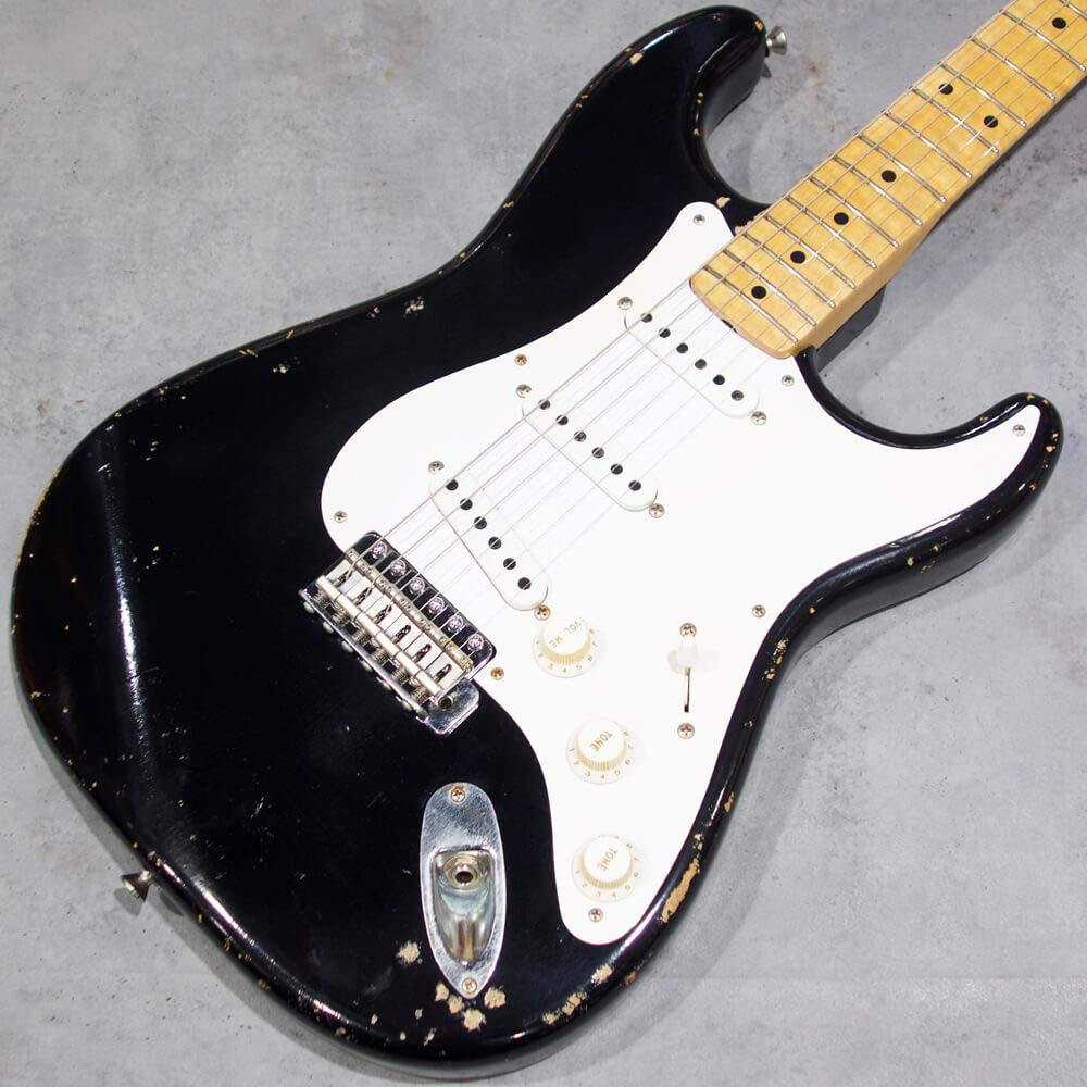 Fullertone Guitars STROKE 57 w/K&T Custom EC Heavy Rusted Black #1804122   B07Q3664NJ