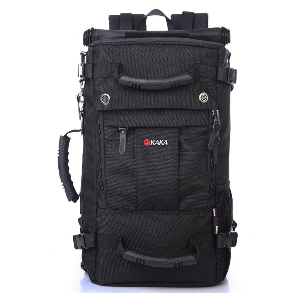 Kaká Klettern, Wandern, Camping, Draußen Mountain-Einsatz entwickelt Rucksack Daypack, Umhängetasche, schwarz 2050 #