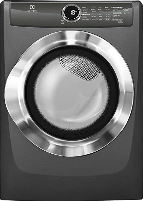 Amazon electrolux efme517siw 27quot energy star front load amazon electrolux efme517siw 27quot energy star front load electric dryer with 8 cu ft capacity 8 dry cycles steam perfect wrinkle release option sciox Choice Image