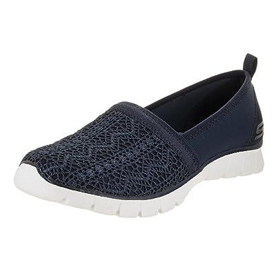 Skechers EZ Flex 3.0 Duchess Womens Slip On Sneakers | Loafers & Slip-Ons