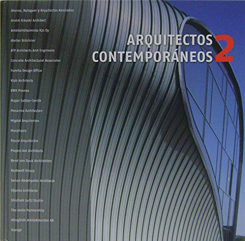 Descargar Libro Arquitectos Contemporáneos / Contemporary Architects: 2 Alex Sánchez Vidiela