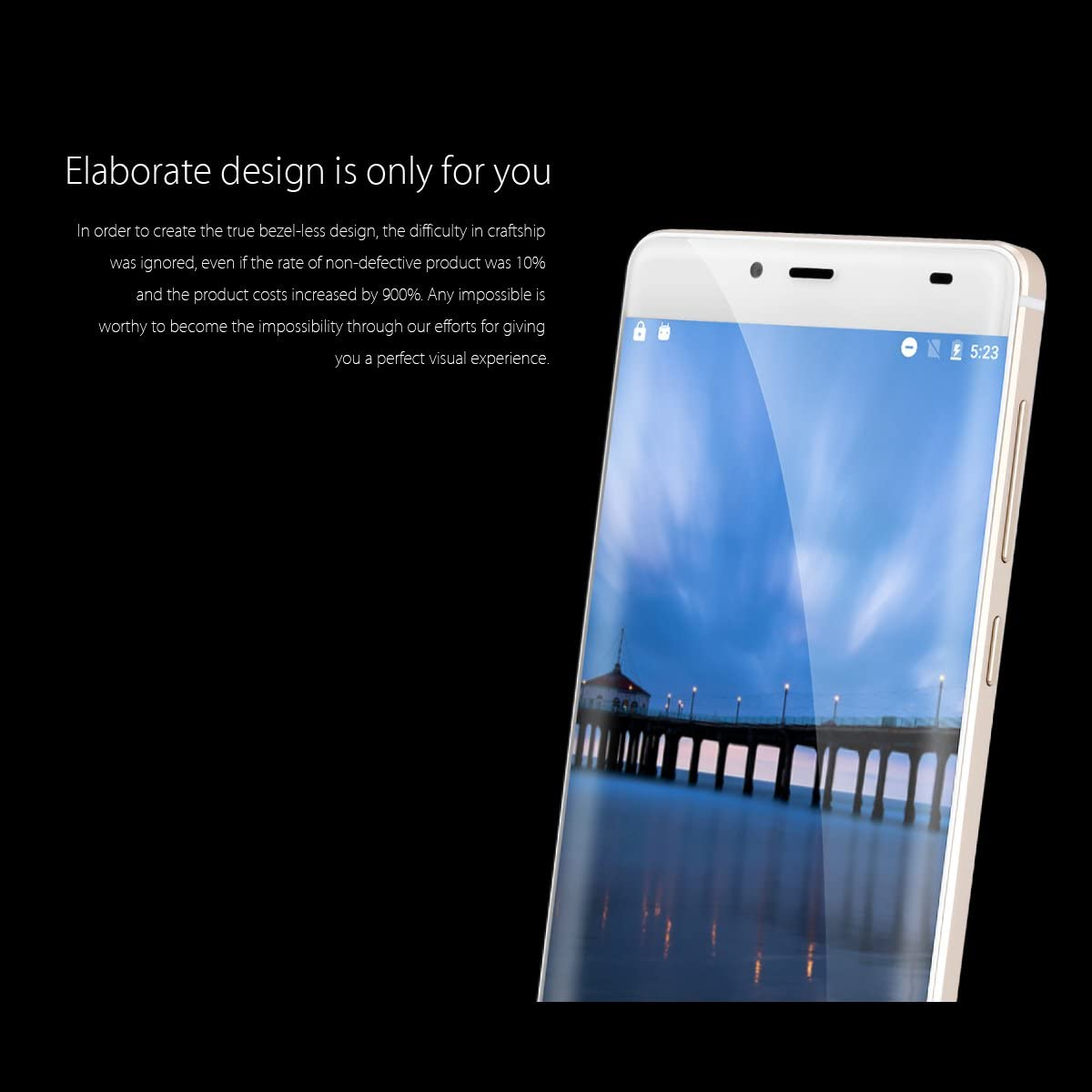 Elephone S3 - Smartphone libre 4G LTE Android 6 (Pantalla 5.2