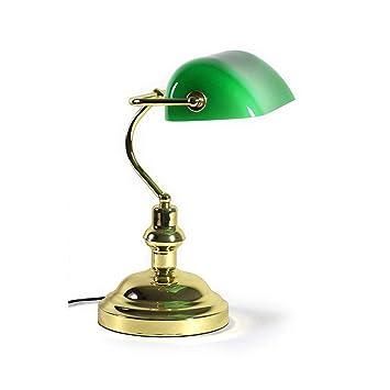Lux Pro Bankerlampe Schreibtischlampe Bibliothekslampe Tischlampe