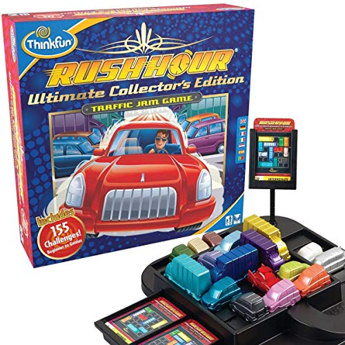 ThinkFun Rush Hour Ultimate Collector's Edition – Escape Gridlock in Style for Ages 8 and Up