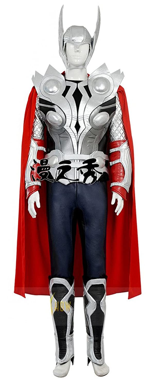 Men's Avengers: Age of Ultron Thor Cosplay Costume (Helmet Included) - DeluxeAdultCostumes.com