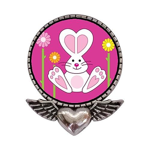 Broche Con Diseño De Corazón Con Alas De ángel Diseño De Dibujos