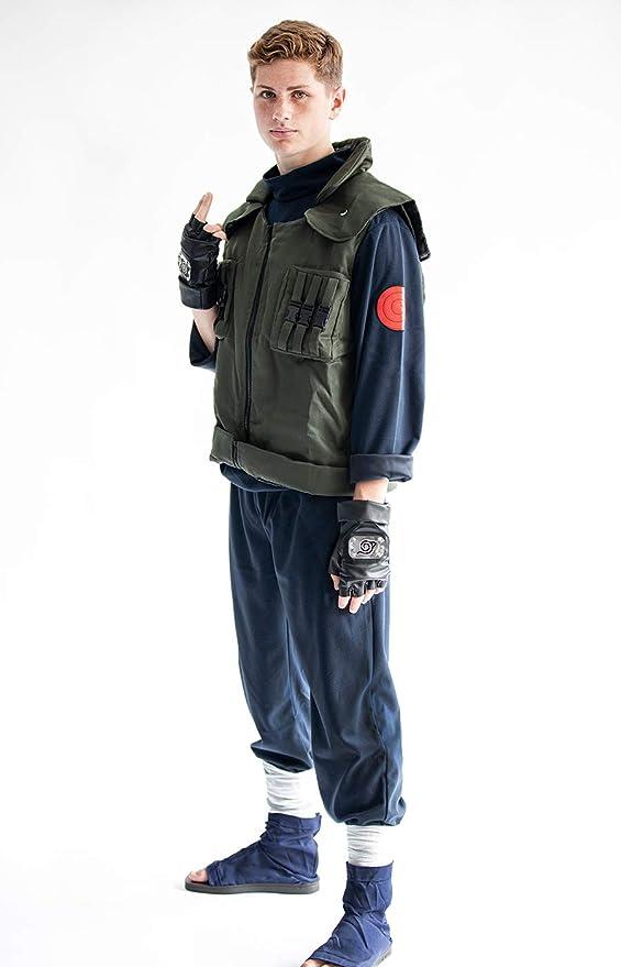 disfraz completo kakashi adulto