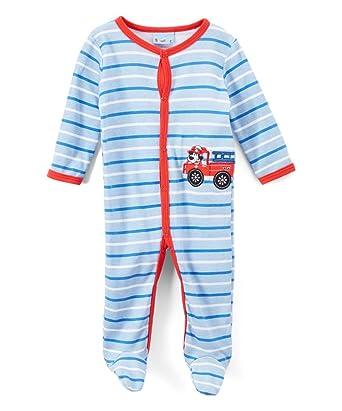 Amazon Com Sweet Soft Baby Boys Sleep N Play Fire Truck With Dog