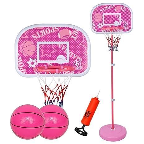 SUON Canasta De Baloncesto Altura Ajustable 60-200cm Niños Canasta ...