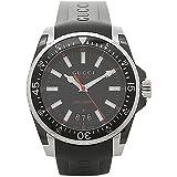 [グッチ] 腕時計 メンズ GUCCI YA136303 ブラック シルバー [並行輸入品]