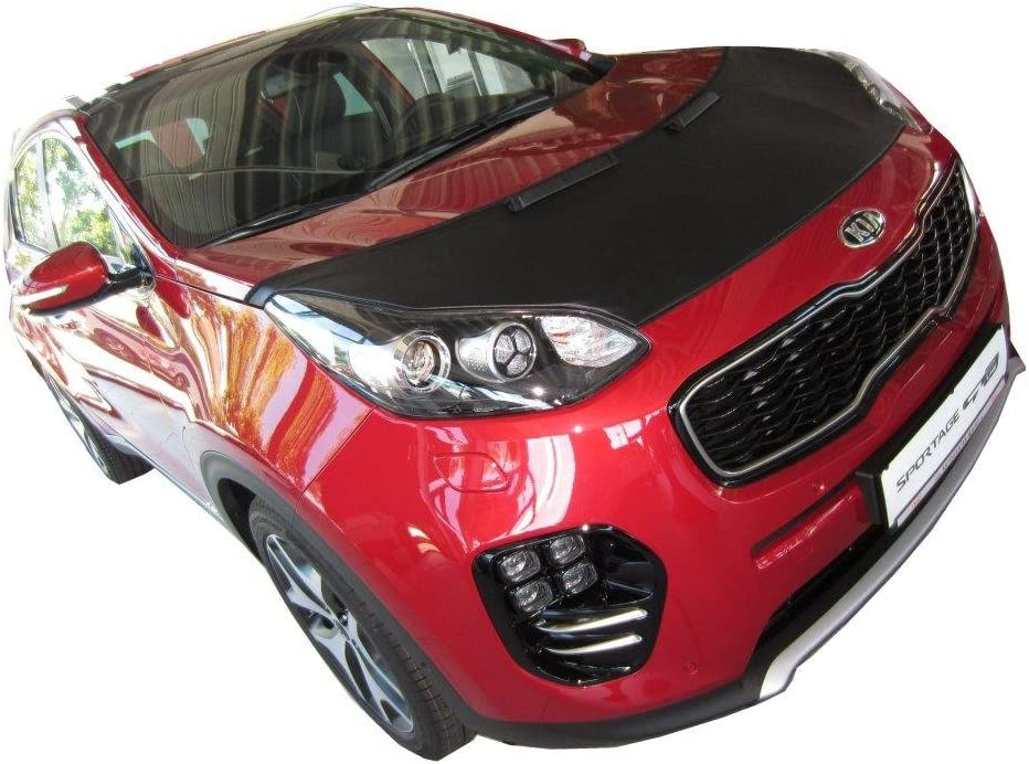HOOD BRA Front End Nose Mask for Kia Sportage since 2015 Bonnet Bra STONEGUARD PROTECTOR TUNING