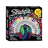 #9: Sharpie Markers Limited Edition Exclusive color Assortment 30 markers, 6 bonus coloring pages
