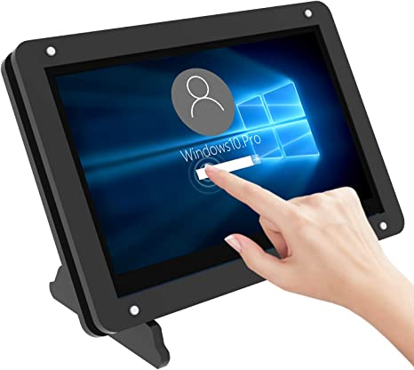 Raspberry pi 5 inch HDMI LCD HD capacitive touch screen 800*480 USB free drive