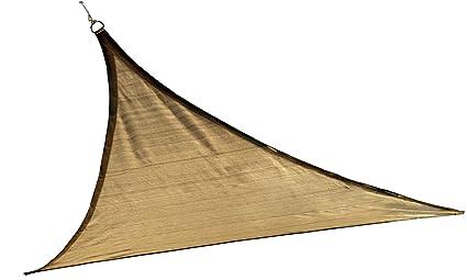 Amazon Com Shelterlogic Triangle Shade Sail Sand 16 X 16 X 16 Ft