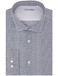 美亚: 卡尔文 克莱恩(Calvin Klein) 男士超修身衬衫 Xtreme Slim Fit超修身剪裁 ¥117