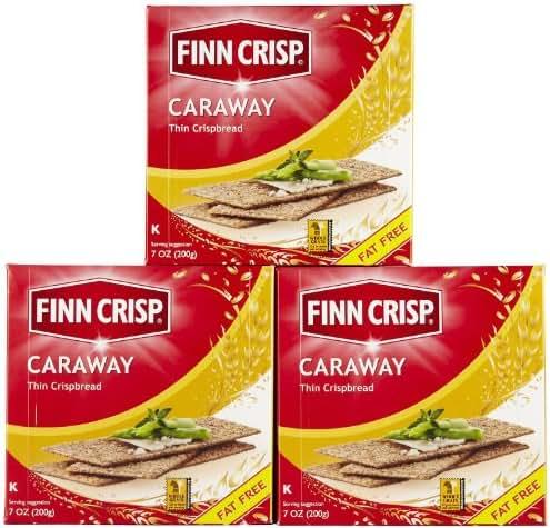 Crackers: Finn Crisp Caraway