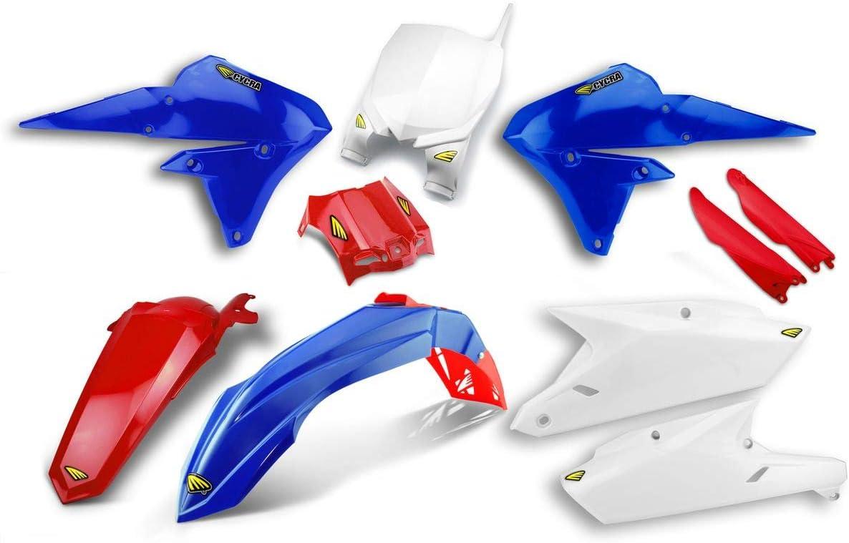 for 14-18 Yamaha YZ250F OEM//RED Cycra Powerflow Plastic Kit