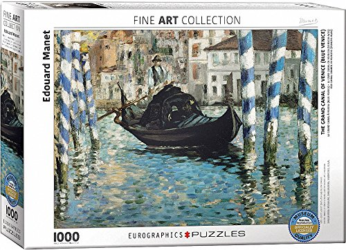 Eurographics Edouard Manet Le Grand Canalvenezia Bleu Puzzle Pezzi Multicolore