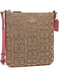 coach satchel bag outlet k4o6  Coach Signature C Outline Khaki Pink Crossbody Swingpack Shoulder Bag F58421