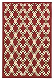 Area Rug in Red