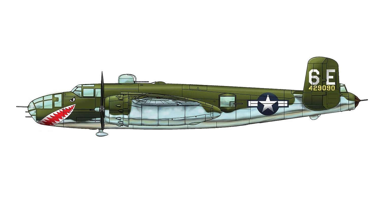B-25J B-25J B-25J Mitchell -Glass Nose- Maßstab 1:32 6dea07