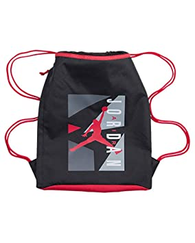 f9d5721b944b Jordan Nike Air Jumpman Graphic String Bag Black Gym Red - One Size ...