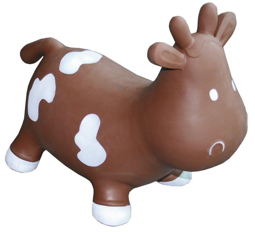 Betsy The Cow Space Hopper Brown Kidzz Farm KFMC130307