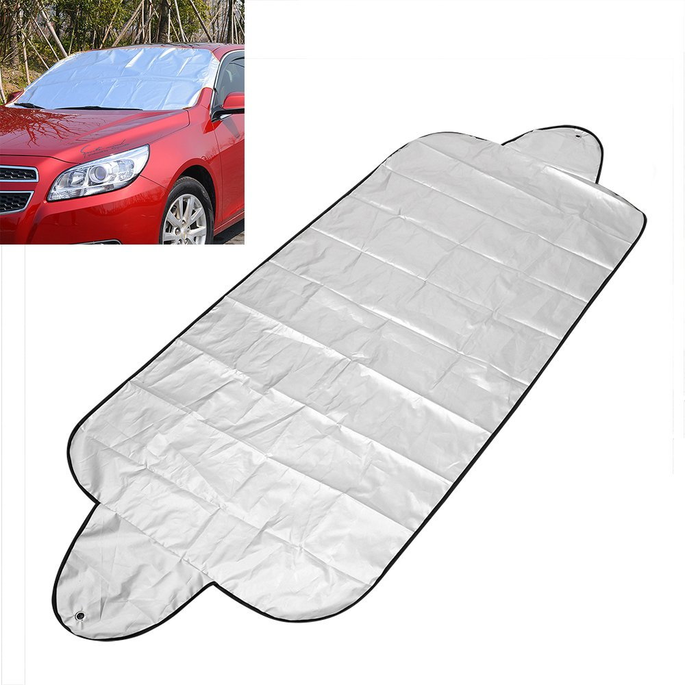 150 70cm Universal Front Window Screen Car Windscreen Cover Car Windshield Shade Auto Sun Cover Anti Snow Frost Ice Shield