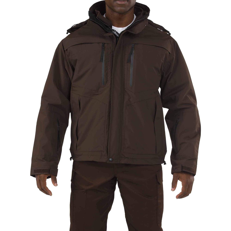 Image of 5.11 Tactical Men's Valiant Duty Jacket, TacTec System Compatible, YKK Aquaguard, Style 48153 Fleece