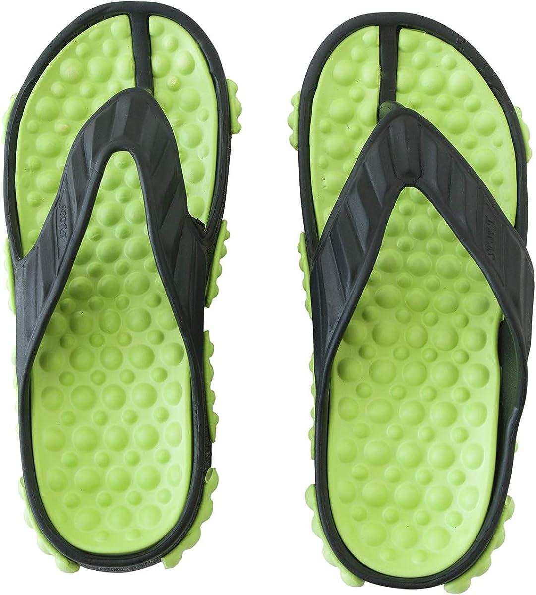 Junbaoer Kid's Flip Flop Boys Pool Slippers Girls Sandal Lightweight
