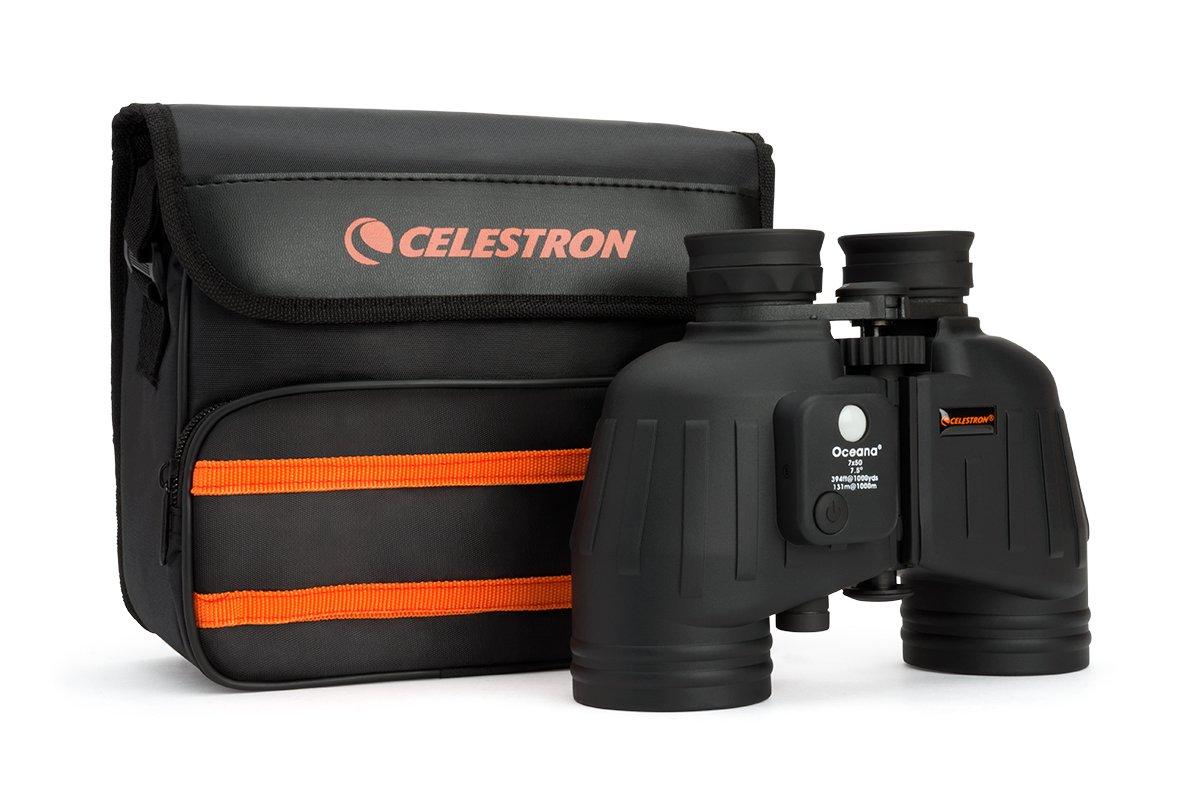 Celestron 71189-A Oceana Porro WP CF et RC Jumelles 7 x 50 noires