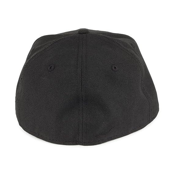 58712f6dddb The Hundreds New Era 59FIFTY Forever Adam Baseball Cap - Black 7 5 8   Amazon.co.uk  Clothing