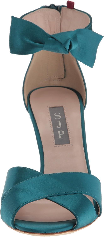 SJP by Sarah Jessica Parker Womens Buckingham Cross Strap Dress Sandal