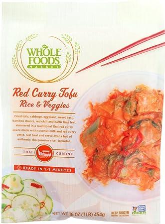 Whole Foods Market, Red Curry Tofu Rice & Veggies, 16 oz