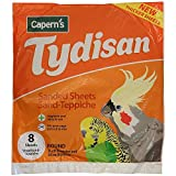 Tydisan Round Sanded Sheets (8 Pack) (13in) (Yellow)
