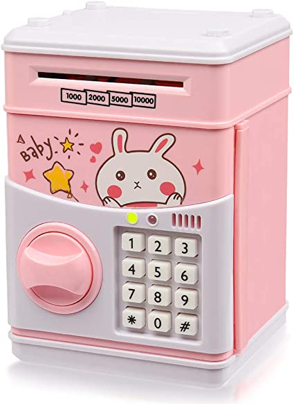 Amazon.com: Yoego – Banco electrónico de dinero para niños ...