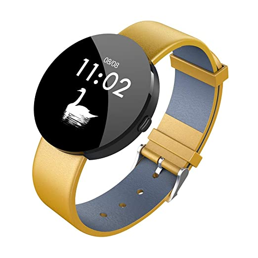Reloj Digital Reloj Fitness Pulsómetro de Pulsera Smart Watch Fitness Activity Tracker podómetro Reloj Deportivo para Mujer Hombre para Teléfonos Android E ...